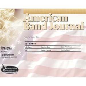American Band Journal #62 (268-269)