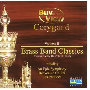 BRASS BAND CLASSICS VOL 2 CORY BAND CD