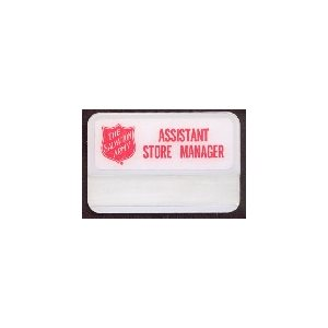 Badge, Thrift Store Assistant Manager