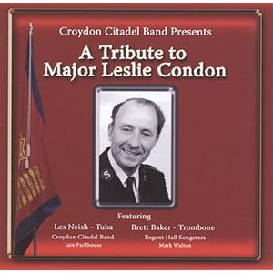 A TRIBUTE TO MAJ CONDON