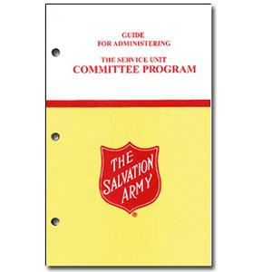 Guide for Administering the Service Unit Committee Program
