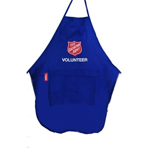 Blue volunteer apron Others