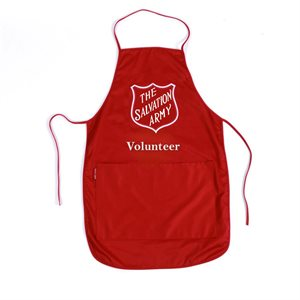 Apron Red w / Volunteer (Others)