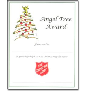 CERT ANGEL TREE