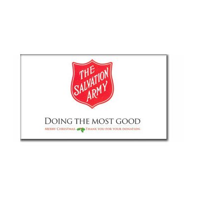 "Kettle Sign 14"" x 22"" 'Doing the Most Good' Waterproof Styrene"