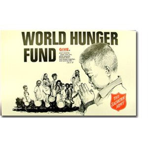 "Kettle Sign 14"" X 21"" World Hunger Day - Posterboard"