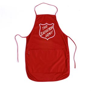 Apron red w / shield  (Others)