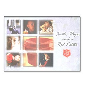 FAITH, HOPE & RED KETTLE  PLACEMATS