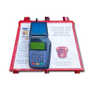 KETTLE STAND CREDIT CARD HOLDER DS