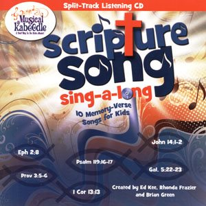SCRIPTURE SONG SING-A-LONG SPLIT TRACK CD