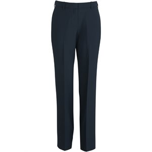 Ladies Navy Wash Wear Slacks