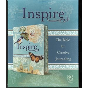 NLT Inspire Bible for Creative Journaling Imitation Leather Cover