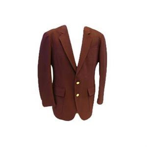 Ladies Burgundy Adherent Blazer
