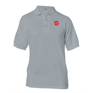 Gravel Polo Shirt with SA Shield