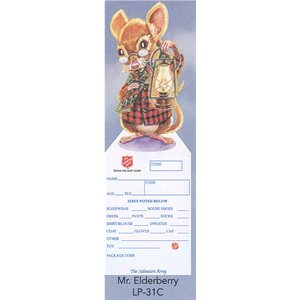 ELDER ANGEL MR. ELDERBERRY MOUSETREE TAGS