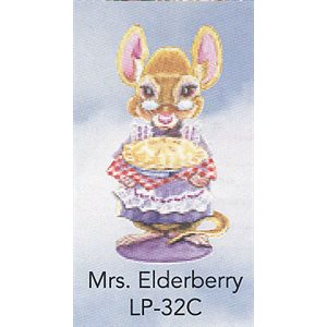 ELDER ANGEL MRS. ELDERBERRY MOUSETREE TAGS