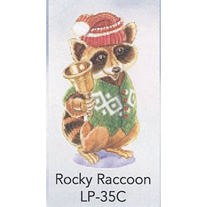 ROCKY RACCOON ANGEL TREE TAGS