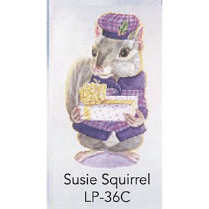 SUSIE SQUIRREL ANGEL TREE TAGS