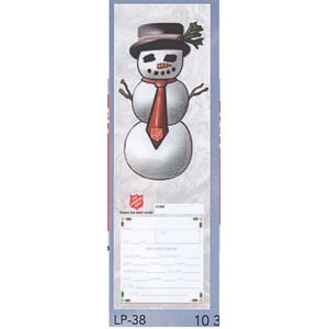 SNOWMAN ANGEL TREE TAGS
