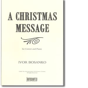 A Christmas Message Piano Part