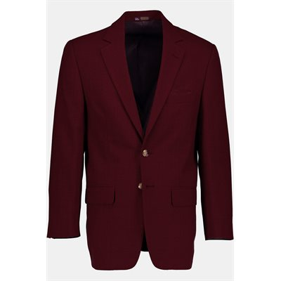Men's Burgundy Adherent Blazer