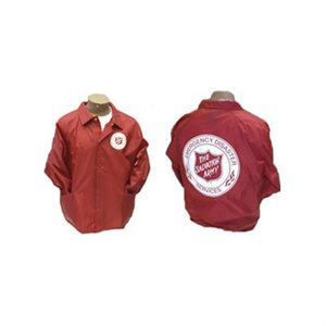 EDS JACKET UNLINED RED