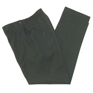 FLAT FRONT SLACKS / UNLINED